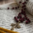 Psalter in the Old Church Slavonic language — Stock Photo #71681513