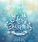 Christmas card. Vector illustration. — Stock Vector