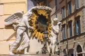 Tabernacle on the area of Trevi ( Piazza di Trevi) in Rome, Ital — 图库照片