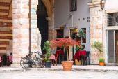 Bar Ristorante Della Ragione, Verona, Italy — Stockfoto