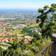 View of the village from the fortress of San Marino. The Republi — Stock Photo #60036549