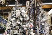"""Grote Cristmas markt """"Villaggio di Babbo Natale"""" in de tuin — Stockfoto"""