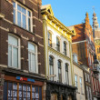 ������, ������: Facades of houses with shops in the Dutch city of Den Bosch