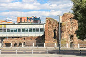 The ruins an area of 20 September in Bologna, Italy — Stock Photo
