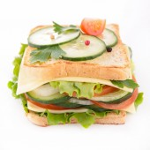 Close up of sandwich — Stock Photo
