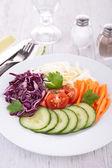 Karışık salata — Stok fotoğraf