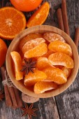 Fruits mandarines — Photo
