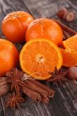 Mandarijn vruchten — Stockfoto