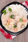 Blanquette  de veau — Stock Photo