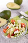 Avocado salad — Stock Photo