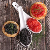 Fresh caviar — Stock Photo