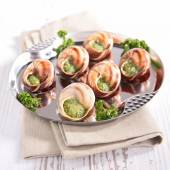 Bourgogne snails — Stock Photo
