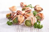 Escargots de Bourgogne — Photo