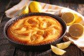 Ciasto cytrynowe — Zdjęcie stockowe