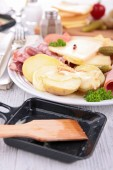 Raclette cheese — Stock Photo