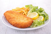 Fried chicken in batter — Stock Photo