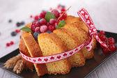 夏洛特蛋糕 — 图库照片
