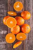Fresh clementine or orange — Stock Photo