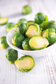 Brussel sprouts close up — Foto de Stock
