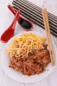 Tasty asian cuisine — Stock Photo