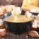 Tasty cheese fondue — Stock Photo #67184567
