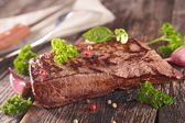 Grilled beef with herbs — Stock Photo