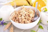 Saludables cereales para el desayuno — Foto de Stock
