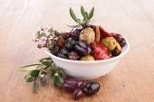 Tapenade di olive con rosmarino — Foto Stock