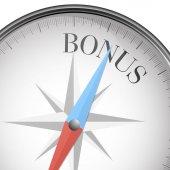 Compass bonus — Stock Vector
