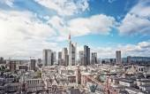 Frankurt Skyline — Stock Photo