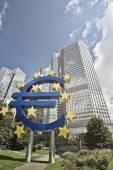 Euro ECB — Stock Photo