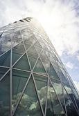 Modern office tower — Stock Photo