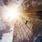 Glass and steel skyscraper — Stock Photo #53134183