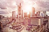 Frankfurt Skyline — Stock Photo