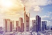 Frankfurt City Center — Stock Photo