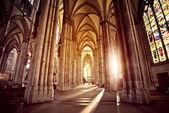 Cathedral Interior — Stockfoto