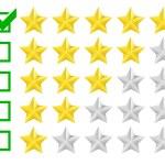 Rating stars — Stock Vector #53926099