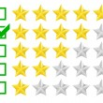 Rating stars — Stock Vector #53926105