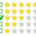 Rating stars — Stock Vector #53926171