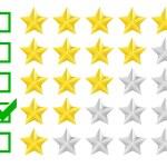 Rating stars — Stock Vector #53926175