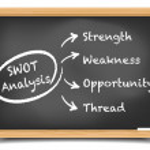 Blackboard SWOT — Stock Vector #62335775