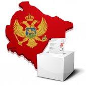 Ballotbox Montenegro — Stock Vector