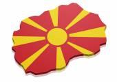 Map Macedonia — Stock Vector