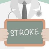 Stroke — Stock Vector