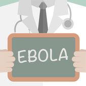 Ebola — Stock Vector