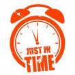 Just in time — Stock Vector #65937471