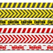 Caution Lines — Stock Vector #77636558