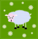 Image of a lamb — Stock Vector