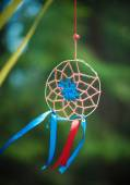 Dreamcatcher in the forest — Stock Photo