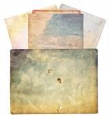 Färgglada gamla foto konsistens — Stockfoto